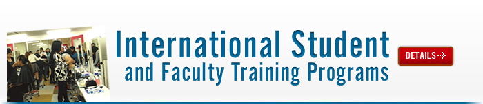 International Students and Faculty Training Programs